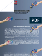 PRESENTACION LINEAS DE INVESTIGACION
