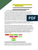 Gouverner la France depuis 1946 état gouvernement et administration héritages et évolutions.docx