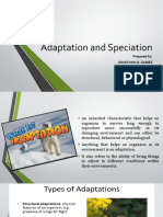 CH 3_Adaptation and Speciation