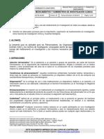 GUIA DE MEDICAMENTOS Y SUMINISTROS DE INVESTIGACIÓN CLÍNICA
