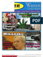 The Mid December, 2010 edition of Warren County Report