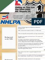 Group_4 Sec_D NHL_Case
