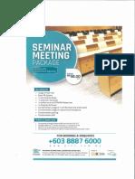 Flier-SeminarMeetingPackage