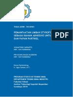 Pemanfaatan Limbah Styrofoam Sebagai Bahan Adhesive untuk Kayu dan Papan Partikel.pdf