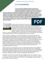 La sostenibilidad como [r]evolución cultural, tecnocientífica y política
