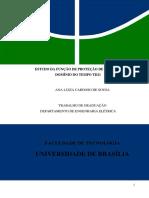 ESTUDO DA FUNÇÃO DE PROTEÇÃO DE DISTÂNCIA NO DOMÍNIO DO TEMPO TD21