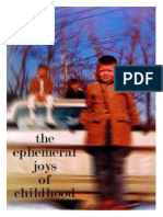 the ephemeral joys of childhood