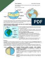 Paralelos y meridianos, Coordenadas geográficas.docx