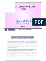 Daewoo Plasma Training Manual [ET]