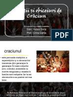 Tradiții și obiceiuri de Crăciun