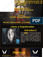 Acciones psicosociales para implementar en la Trata de Pesonas _ Sally Daza Mendoza