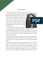 Portafolio e ideas alrededor de la obra de Jorge Ortiz Cancino