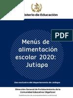 11 MENUS ESCOLARES 2020 JUTIAPA.pdf