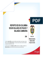 Inversion Extranjera Colombia