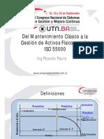 congreso ISO 55000 ACIEM