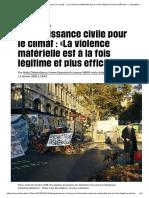 Désobéissance civilepour le climat _ «La violence matérielle est à la fois légitime et plus efficace» - Libération.pdf