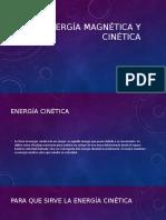 Energía magnética y cinética oficial