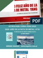 2020 Feliz Año de La Rata de Metal