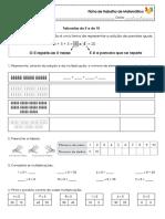 FT Matemática - tabuadas 5 e 10