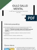 Módulo salud mental (Enfermeria psiquiatrica)