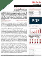 Ambit-SBI Cards-Pre-IPO-Sound fundamentals Challenging macros-26Dec2019