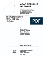 The Conservation of the old City of Cairo