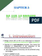 DC and AC bridges
