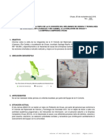 Informe N° 003 2019 Visita a la Hacienda de Chuao ECCh - 25NOV19
