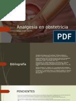 Analgesia en obstetricia
