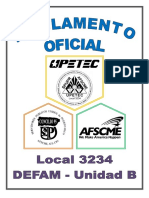 Reglamento Oficial UPETEC (rev. 2019)