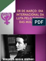 RODA DE CONVERSA - GÊNERO