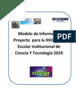 Modelo Informe Fencyt 1