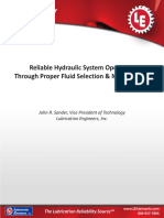Reliable Hydraulic System Operation