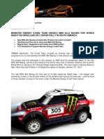 Press Release MINI All 4 Racing English