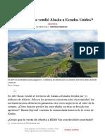 ¿Por qué Rusia vendió Alaska a Estados Unidos_ - Russia Beyond ES
