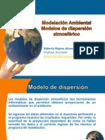 Modelos de dispersion
