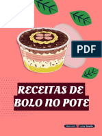 Receita De Bolo No Pote