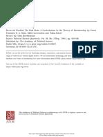 KIRCHHEIMER, Otto - The Dual State (review)