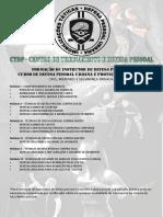 CURSO DE DEFESA PESSOAL URBANA E PROTEÇÃO INDIVIDUAL
