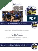 benson middle presentation vision protocol