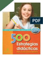 500 ESTRATEGIAS DIDÁCTICAS