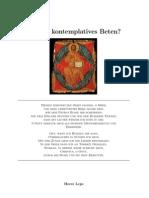 Kontemplatives Beten