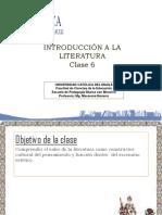 Clase 6 Introducción a la Literatura