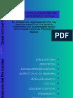 FUNCIONES PSICOLOGICAS BASICAS PARA EL APRENDIZAJE ESCOLAR