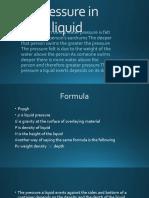 Pressure in liquid.pptx