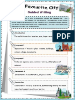 My favourite city guided writing