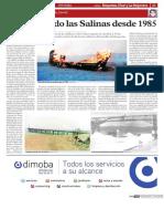 Compilación de artículos en prensa sobre Las Salinas