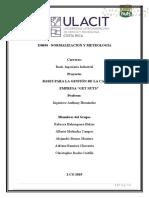 Avance II. Normalización y Metrología NEW
