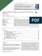 ¿Cuál es el desafío de nuevos empresarios energéticos renovables en desarrollo.pdf