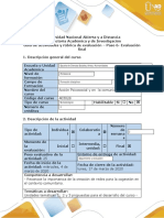 Guía de Actividades y Rubrica de Evaluación - Paso 6- Evaluacion